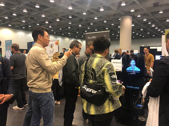 サンフランシスコで行われた『Disrupt SF 2018』にて『InterPlay Elastic Framework』発表のコンテンツを、展示し、非常に多くの賞賛をいただきました。